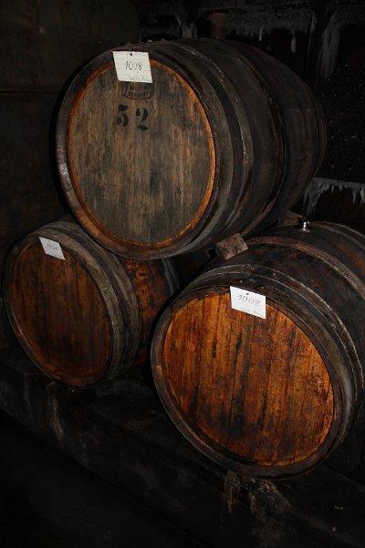 Weinkeller im Weingut Graf-Müller